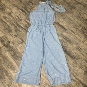 Cloth & Stone Anthropologie Polka Dot Jumpsuit